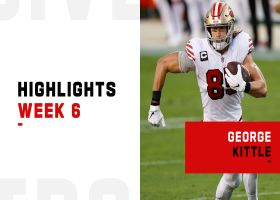 Every George Kittle catch from 109-yard game | Week 6