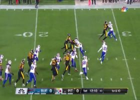 James Conner's first rush since Week 11 goes for 15 yards
