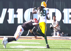 De'Vondre Campbell snags critical interception on first drive of overtime