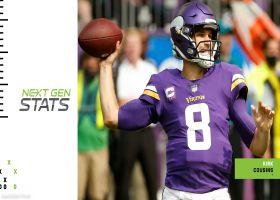 Vikings' game-winning drive win probabilities in Week 5 | Next Gen Stats