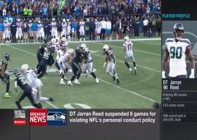 Rapoport: Seattle Seahawks defensive end Jarran Reed suspended six games for violating personal conduct policy