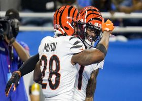 Can't-Miss Play: Ja'Marr Chase paves way for Mixon's 40-yard TD