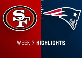 49ers vs. Patriots highlights | Week 7