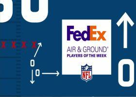 FedEx Air & Ground nominees   Week 5