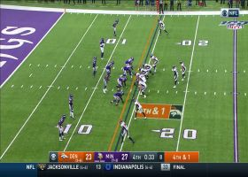 Brandon Allen takes zone-read for clutch fourth-down pickup