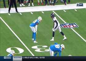 Jerry Jeudy spins around Chargers defense for third-down pickup