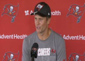 Tom Brady previews his first game in Los Angeles against the Rams
