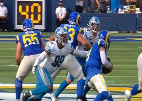 Lions bring the pressure to Stafford for key sack