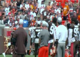 Camp highlight: David Njoku's leaping TD gets Dawg Pound hyped in Cleveland