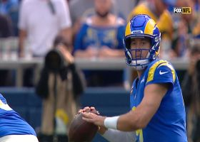 Stafford sails perfect pass to Kupp for 29 yards
