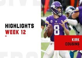 Kirk Cousins' best passes from comeback win | Week 12
