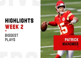 Patrick Mahomes' biggest plays vs. the Chargers | Week 2