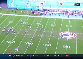 Meyers breaks free in Fins' secondary for 35-yard catch and run