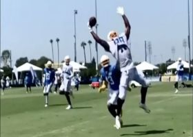 Is that Virgil Green or OBJ? Chargers TE makes amazing one-handed grab at camp