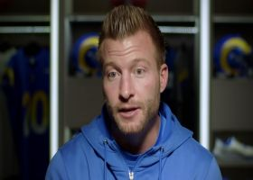 Sean McVay talks to Steve Mariucci about how the Rams defense has led them to success