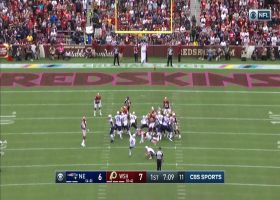 Mike Nugent misses first extra point as a Patriot
