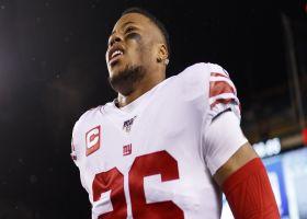Kim Jones: Saquon Barkley 'too important' to Giants future to push rehab