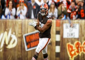 Browns collapse pocket on Murray for Myles Garrett's eighth sack of year