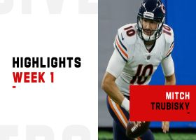 Mitchell Trubisky's best throws from 242-yard game | Week 1