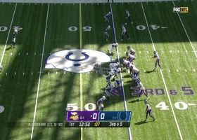 Thielen makes diving catch off perfect 13-yard pass from Cousins