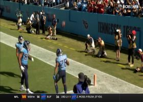 Tannehill locates McNichols open in the flat for key third-down TD