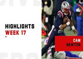 Cam Newton's best plays from 4-TD game | Week 17
