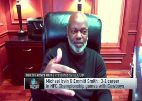 Emmitt Smith joins 'Hall of Famers Only' to relive Championship Sunday memories