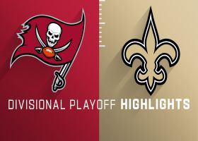 Buccaneers vs. Saints highlights | NFC Divisional Round