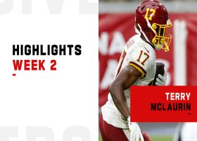 Every catch from Terry McLaurin's 125-yard game | Week 2