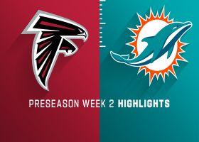 Falcons vs. Dolphins highlights | Preseason Week 2