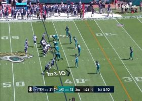 Chester Rogers finds open space for 26-yard catch and run