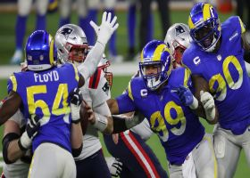 Leonard Floyd, Aaron Donald meet at the QB for Rams' fifth sack