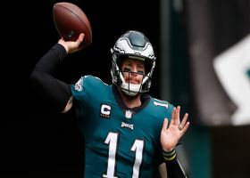 Baldinger: Carson Wentz's fundamentals, mechanics 'not good right now'