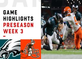 Eagles vs. Browns highlights | Preseason Week 3