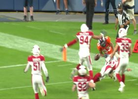 Khalfani Muhammad's 49-yard run ends with odd fumble off pylon
