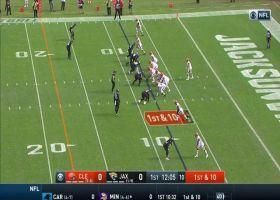 Dawuane Smoot finds Baker Mayfield for sack at Browns' 2-yard line