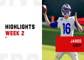 Jared Goff's best throws from 3-TD game | Week 2