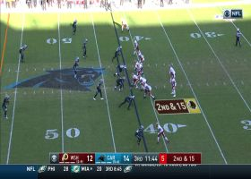 Jeremy Sprinkle makes sweet catch for 23 yards