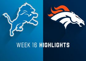 Lions vs. Broncos highlights | Week 16