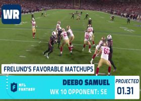 Cynthia Frelund's 10 most favorable fantasy Flex matchups | Week 10