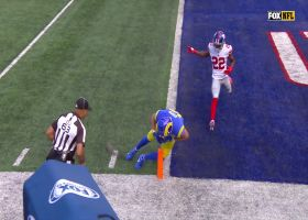 Cooper Kupp's unorthodox pylon reach nets TD for Rams