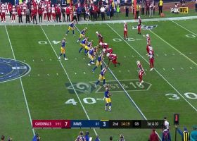 Todd Gurley takes slant route for a 14-yard catch and run
