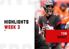 Tom Brady's best throws from 3-TD game   Week 3