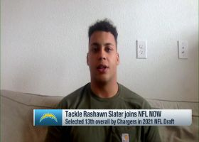 Rashawn Slater revisits journey from from high school to No. 13 pick of '21 draft