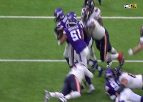 Ifeadi Odenigbo speeds off the edge for incredible strip-sack