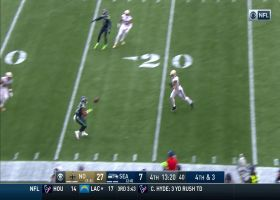 Russell Wilson finds C.J. Prosise for clutch fourth-down connection