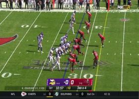Barrett is a blur on speedy third-down sack of Cousins