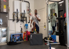 Working out with Cliff Avril | NFL FIT