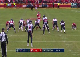Daniel Sorenson sniffs out Texans' fake punt for HUGE fourth-down stop