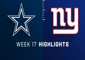 Cowboys vs. Giants highlights | Week 17